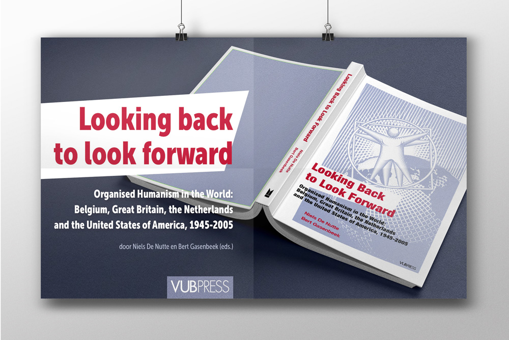 Greyclouds.be - Bert Blondeel | Design for print: Uitgeverij ASP - add 'Looking back to look forward'